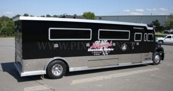 Armored truck limo