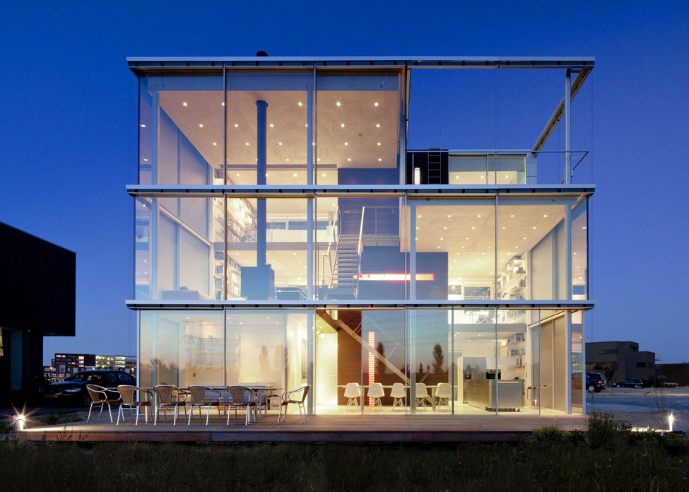 Rieteiland House - house of the Dutch architect Hans van Heeswijk