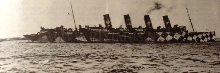 Ships Camouflage from WW1