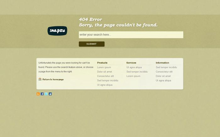 The Best of 404 Error Pages