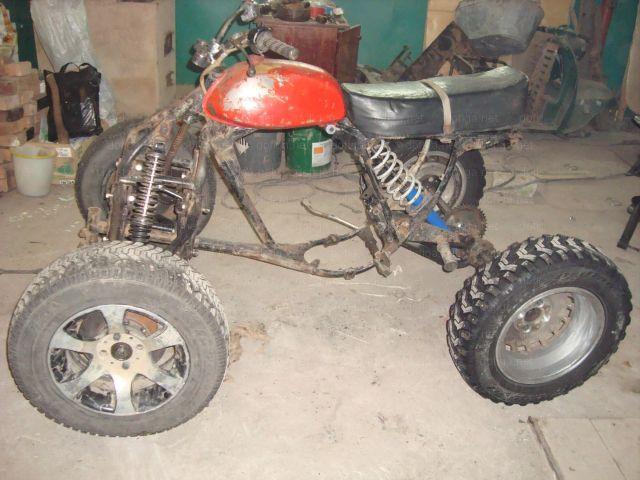 Scrap Metal Becomes Atv Vehicles