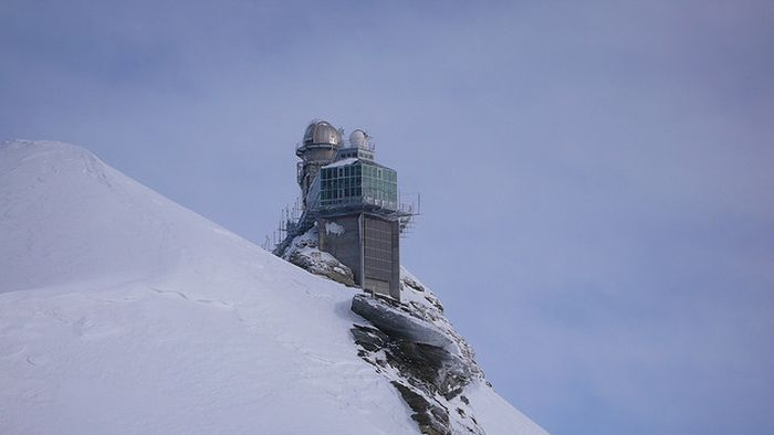 The Sphinx Observatory in Jungfraujoch, Switzerland