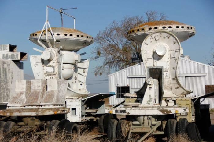 Abandoned NASA Crows Landing Airport