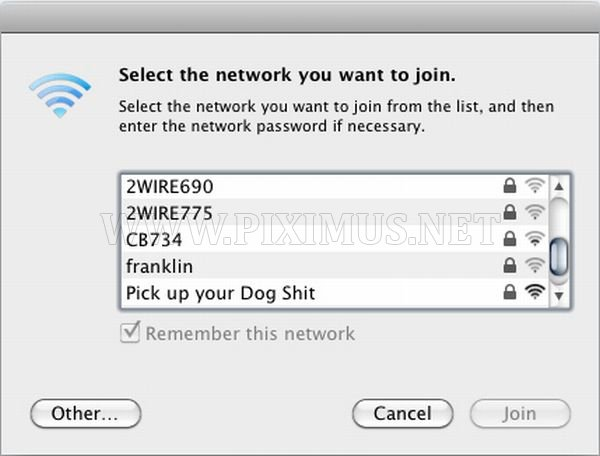 Funny WiFi Network Names