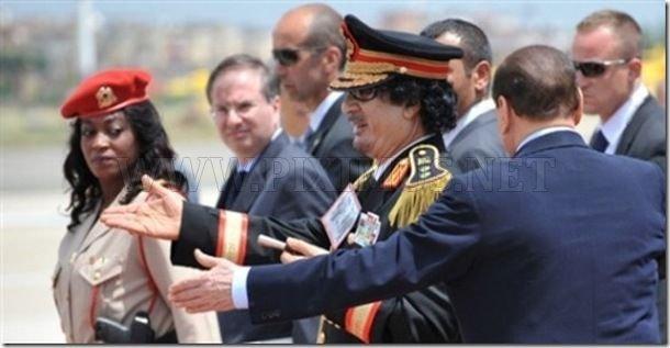Gaddafi's All Female Bodyguards