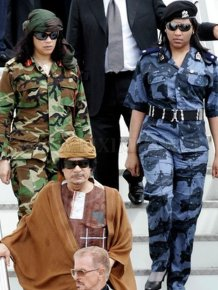 Gaddafi's All Female Bodyguards