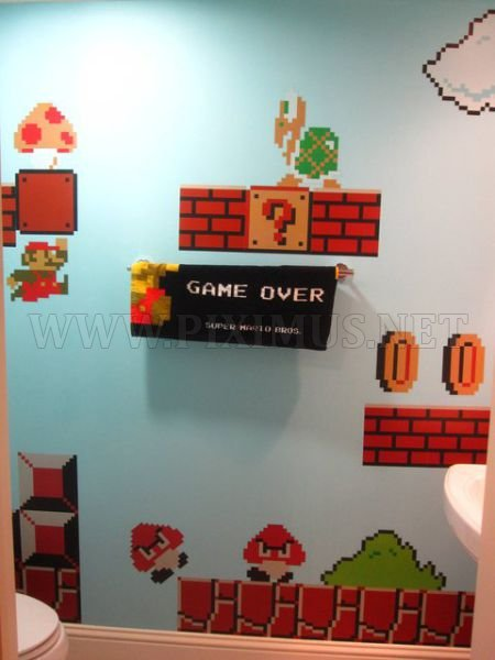 Super Mario Bathroom