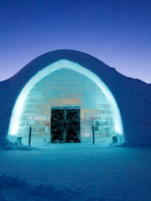 IceHotel - the largest ice hotel in the World