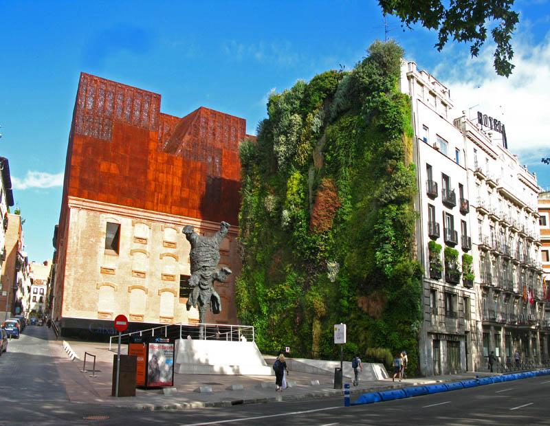 Vertical gardens around the World