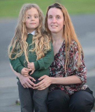 5-Year-Old Gets Long Locks Chopped