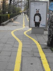Bulgaria is the Home of the Worst Bike Lanes