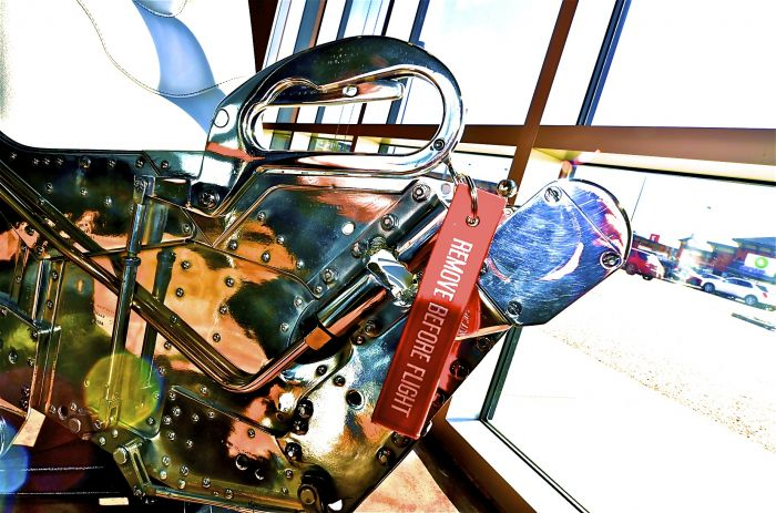 Converting an F4 Phantom Ejection Seat into a Chair