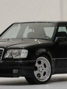 Brabus selling 6.5 sports sedan based on the W124 Mercedes-Benz E500 with Just 252km on the Odo