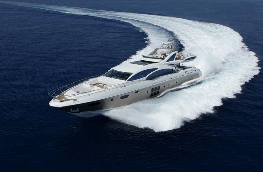 Azimut Grande 120SL - luxurious and fast superyacht