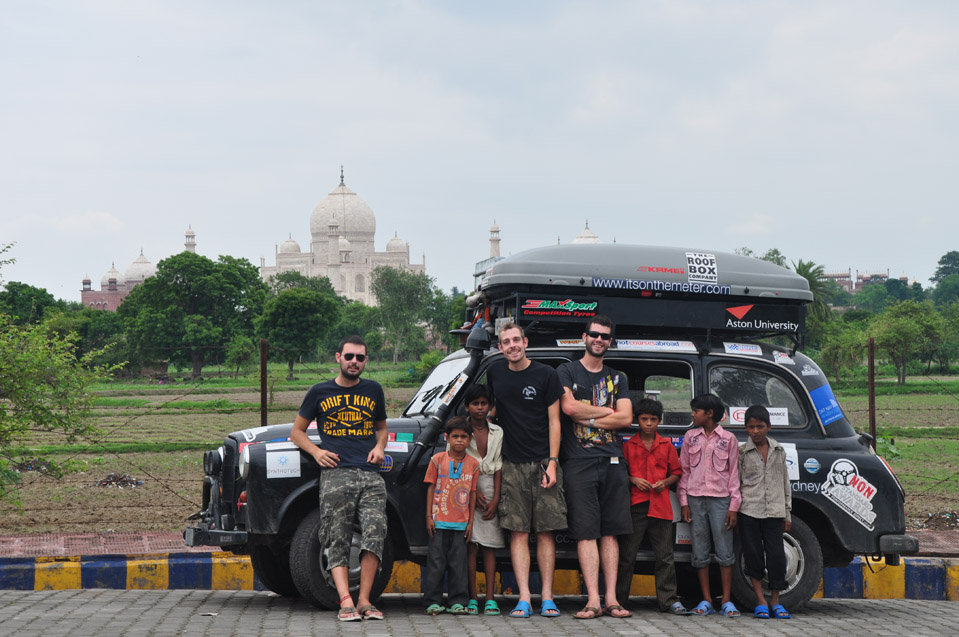 Around the World with a black London taxi