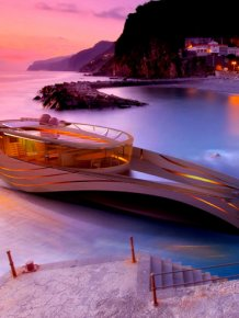 Elegant Yacht Concept - Cronos