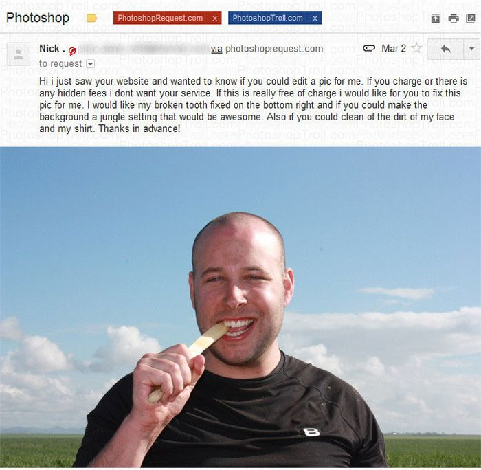 Hilarious Photoshop Trolling
