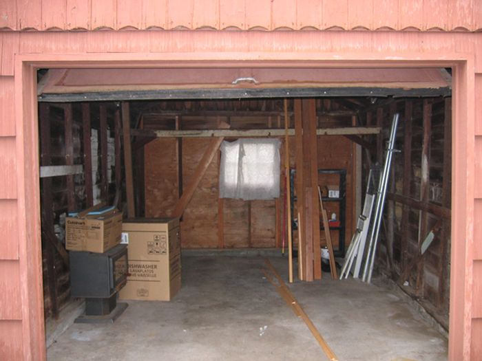 Garage Transformed into a Mini House