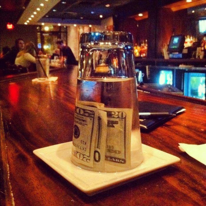How to Teach a Bad Waiter a Lesson