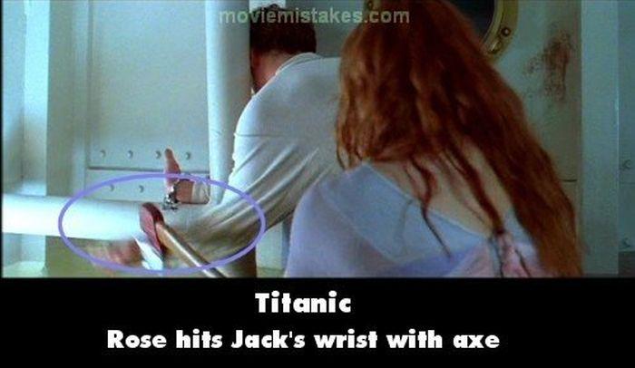 Mistakes in the Original Titanic Movie