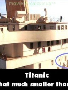 Mistakes in the Original Titanic Movie