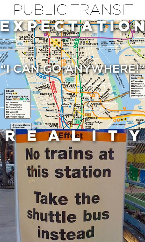 Moving To NYC: Expectations Vs Reality