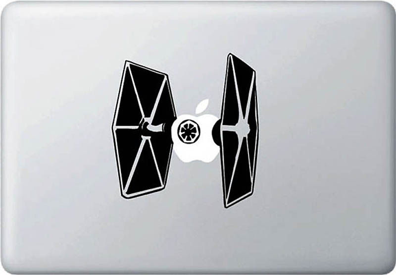 Creative skins for the MacBook