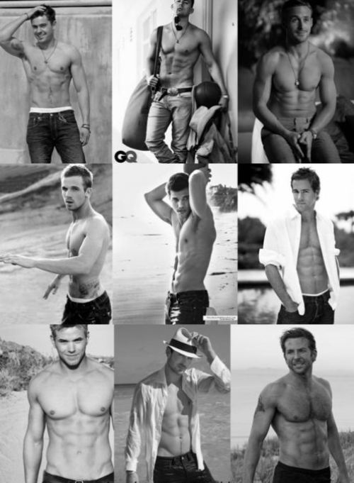 Shirtless Men