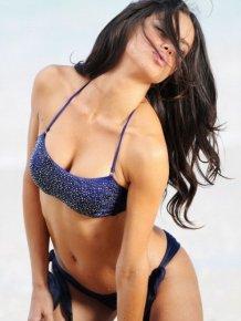 Adriana Lima in sparkly bikini