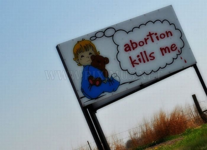 Anti-Abortion Signs