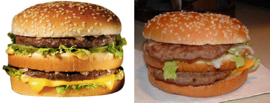Do Fast Food Ads Tell the Truth?