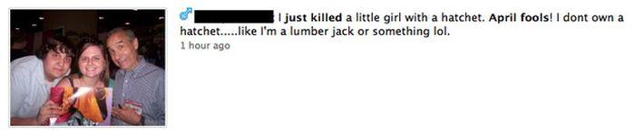 The Worst April Fools Day Jokes On Facebook