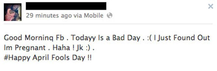 The Worst April Fools Day Jokes On Facebook