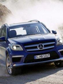 First photos of the new Mercedes-Benz GL-Class 2013