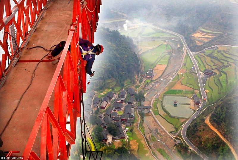 The Longest Hanging Bridge In The World