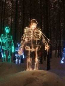 Light paintings by Janne Parviainen
