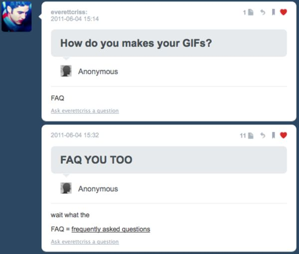Funny Tumblr Replies
