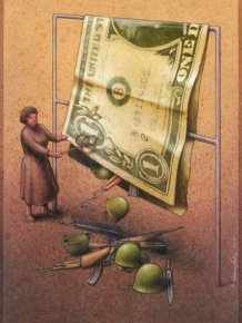 Satiric Drawings by a Polish Artist Pawel Kuczynski