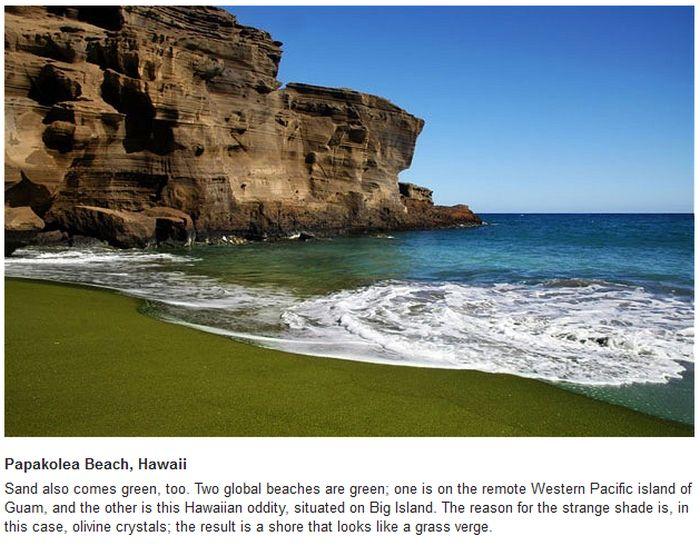 The World's Weirdest Beaches