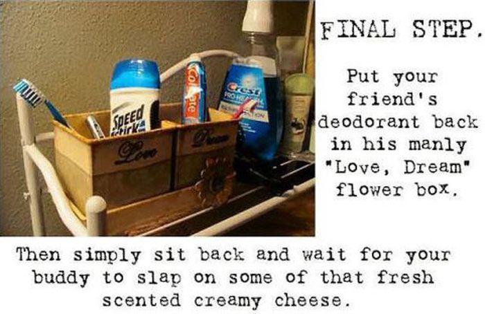Hilarious Stick Deodorant Prank