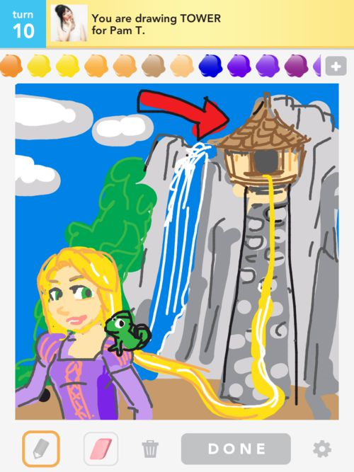 "Awesome ""Draw Something"" Creations"