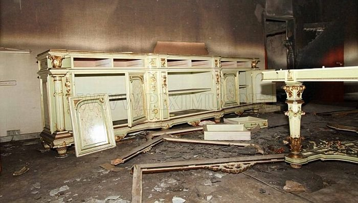 Inside the Destroyed Gaddafi's Mountain Lair