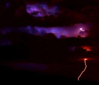 Storm in Albuquerque, New Mexico