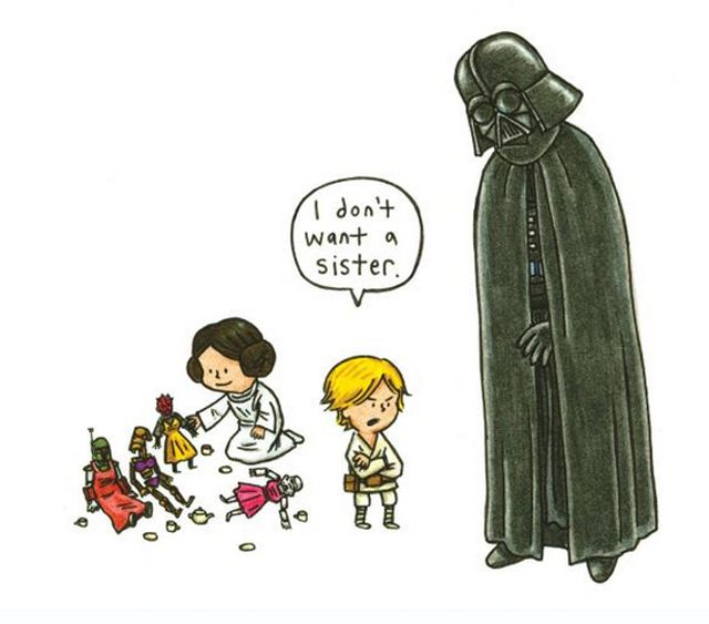 What if Darth Vader Was a Good Daddy