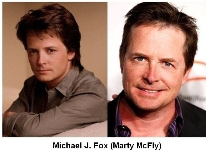 Back to the Future Actors Then and Now