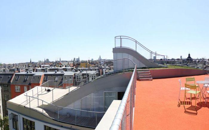 Awesome Roof in Kopenhagen, Denmark