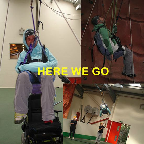 Handicapped Adrenaline Junkie Barry West