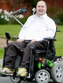 Handicapped Adrenaline Junkie Barry West