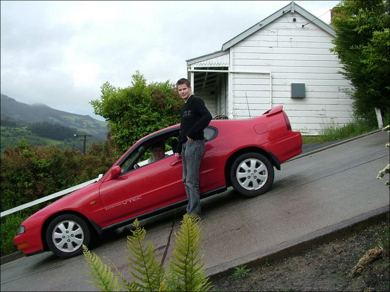 The steepest street in the world - Baldwin Street