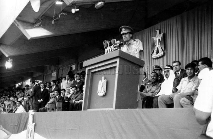 Muammar Gaddafi Aging Timeline